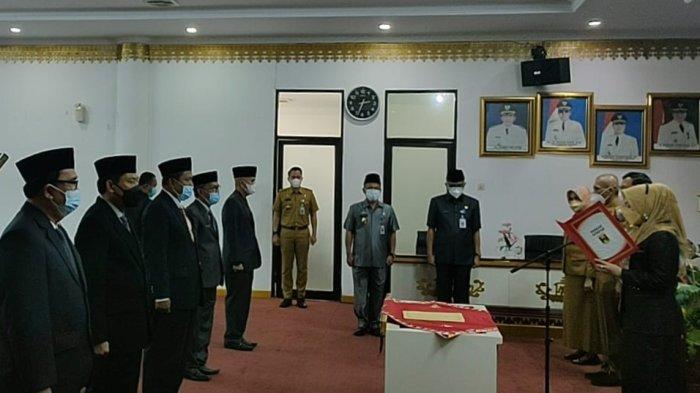 Sabaruddin Jabat Sekretaris DPRD Tanggamus Lampung