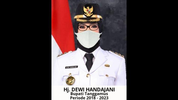 Bupati Tanggamus Dewi Handajani Siap Terima Vaksinasi Covid-19
