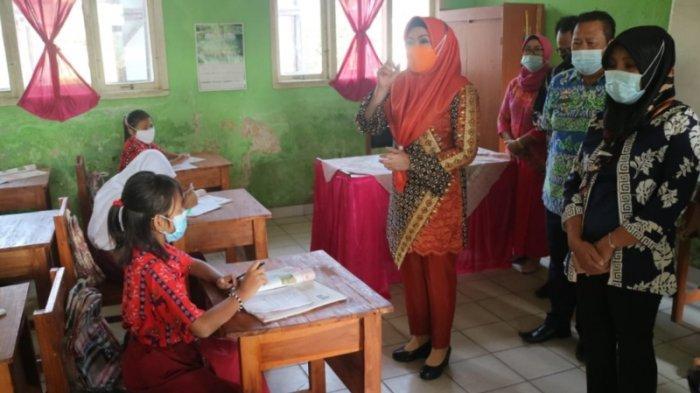391 Sekolah di Tanggamus Mulai Belajar Tatap Muka Secara Terbatas