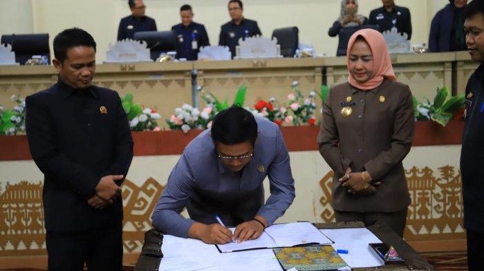 Bupati Tulangbawang Apresiasi Inisitif DPRD Bahas Kabupaten Layak Anak
