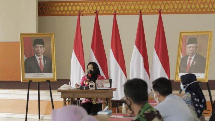 Bupati Tulangbawang Lampung Winarti Minta Dinkes Setempat Percepat Vaksinasi Covid-19