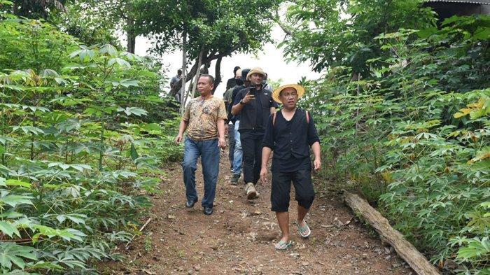 Bupati Tulangbawang Barat Ajak Tamu Bamboo Festival Jelajah Alam Susur Sungai