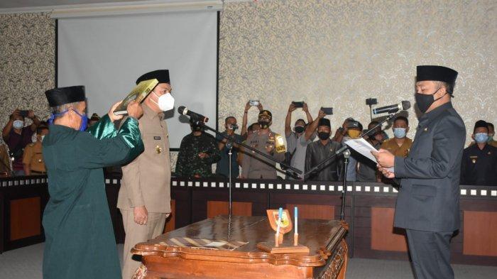 Bupati Tulangbawang Barat Umar Ahmad Lantik Novriwan Jaya Sebagai Penjabat Sekkab Tubaba
