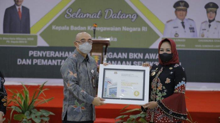 Tulangbawang Sabet Juara 1 BKN Award 2021, Begini Kata Winarti