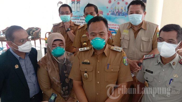 Bupati, Wakil dan Ketua DPRD Pringsewu Tak Bisa Terima Vaksinasi Covid-19, Kenapa?