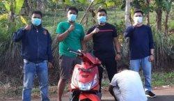 Buron 4 Bulan, Tersangka Curanmor di Tanggamus Lampung Ditangkap