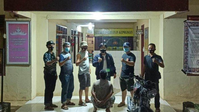 9 Bulan Buron, Pelaku Pencurian Ditangkap Polsek Kedondong