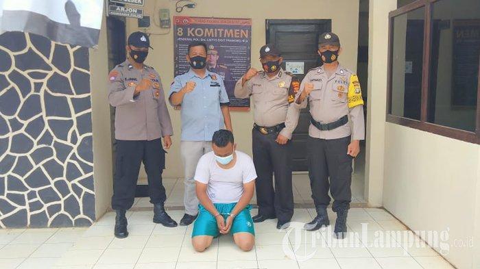 Buronan Pencurian Sepeda Motor di Lampung Utara Ditangkap Polisi di Tangerang Kota