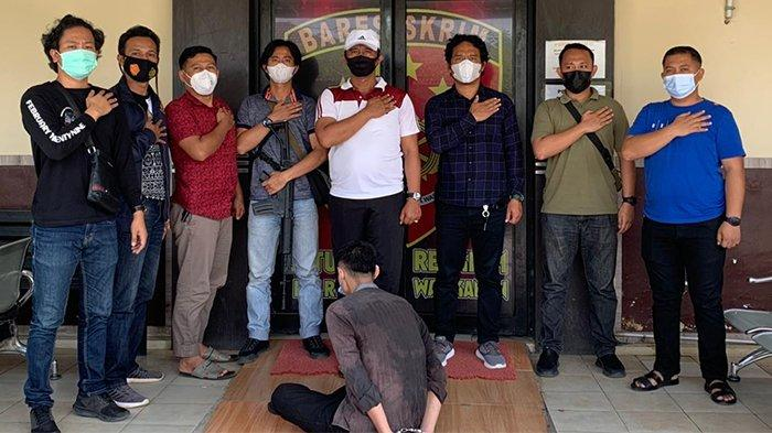 Buronan Rampok di Lampung Ditangkap Tekab 308 Polres Way Kanan