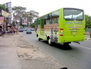 BRT Layani Rute Rajabasa-Citra Garden