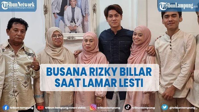 Bocoran Busana Lamaran Rizky Billar dan Lesti Kejora 13 Juni 2021