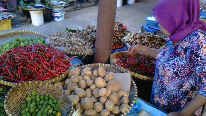 Sepekan Jelang Lebaran, Harga Cabai Merah di Pasar Gisting Naik Rp 5.000 Jadi Rp 25.000 per Kg