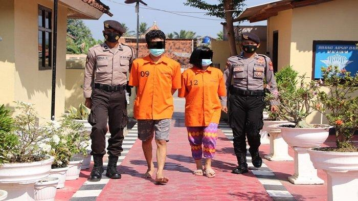 Sepasang Calon Pengantin di Pringsewu Lampung Kedapatan Miliki Sabu, Terancam 12 Tahun Penjara