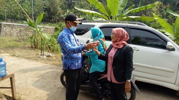 Camat Abung Tengah Lampung Utara Imbau Pengunjung Tempat Wisata Patuhi Prokes