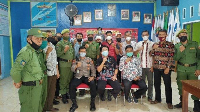 Camat Penengahan Bentuk Satgas Keamanan Tingkat Desa Antisipasi Pelaku 3C
