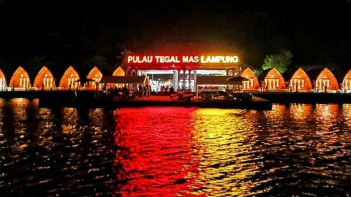 Lihat Cantiknya Pulau Tegal Mas Lampung Terkini