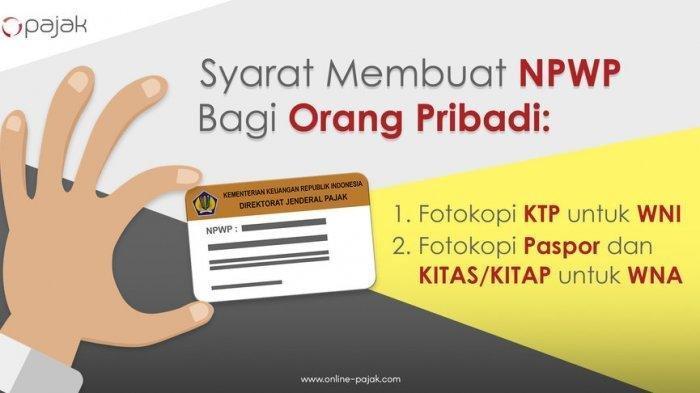 Cara Buat NPWP Online, Simak Syarat serta Cara Ganti Kartu NPWP yang Patah atau Rusak