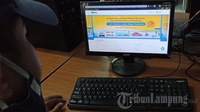 Pesan Tiket Kapal Online Merak Bakauheni Pakai Aplikasi Ferizy, Lihat Caranya
