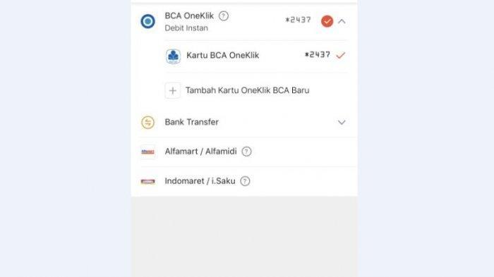 Cara Isi Ulang ShopeePay Lewat BCA OneKlik