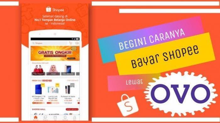 Cara Top Up ShopeePay Melalui OVO