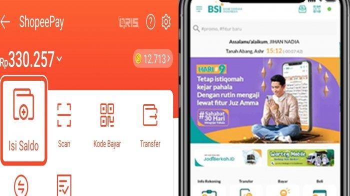 Cara Top Up ShopeePay Via Bank Syariah Indonesia