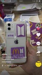 Case Handphone BTS Meal