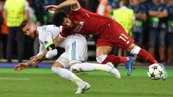 Jadwal Perempat Final Liga Champions, Real Madrid vs Liverpool, Sergio Ramos Absen Karena Cedera