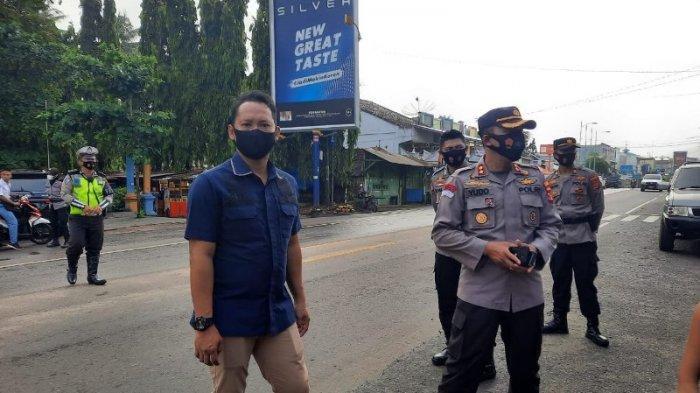 Cegah Gangguan Kamtibmas, Kapolres Lampung Utara Pimpin Patroli Subuh