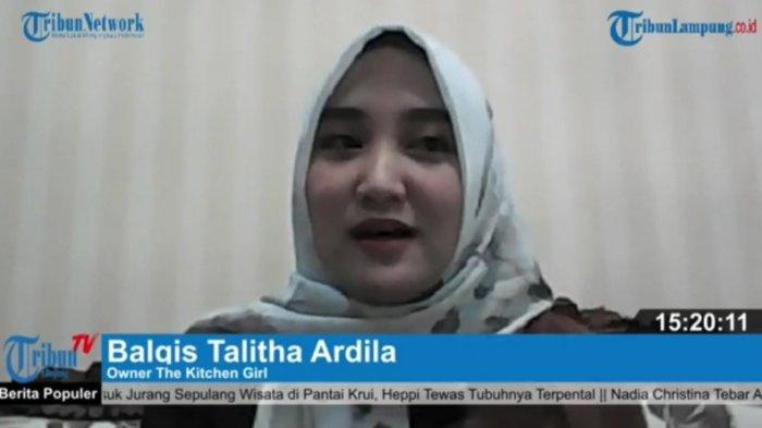 Cerita Balqis Talitha Ardila Rintis The Kitchen Girl, Berawal dari Menu Cumi Asin Pedas
