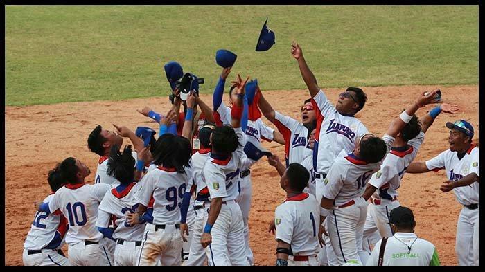 Cerita Tim Softball Putra Lampung Raih Medali Emas di PON XX Papua 2021
