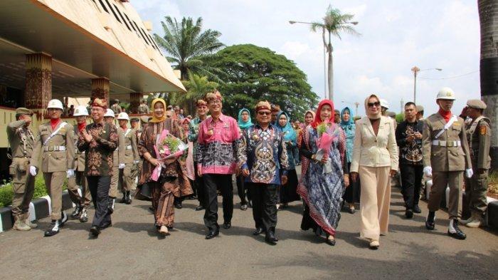 Chandri dan Sumarju Saeni Pensiun, Sekprov Lampung: Terima Kasih