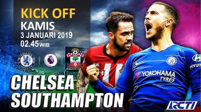Liga Primer Inggris, Chelsea vs Southampton, Laga Beda Misi di Awal Tahun
