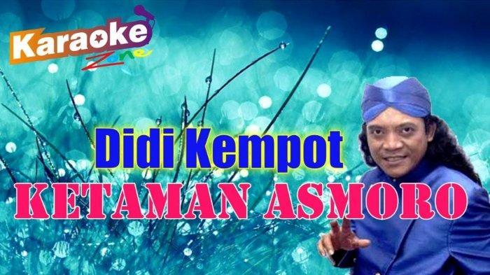Chord Gitar dan Lirik Lagu Ketaman Asmoro dari Penyanyi Didi Kempot