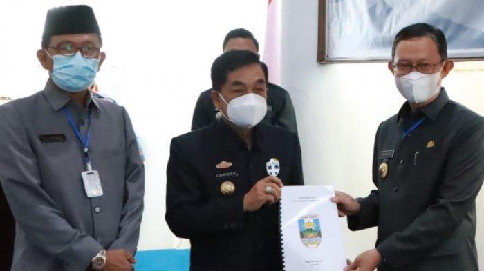 Gubernur Lampung Sampaikan Terima Kasih kepada Pjs Bupati Pesisir Barat Achmad Chrisna Putra