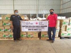 Coca-Cola Amatil Indonesia Bersama PMI Kalimantan Selatan Bantu Air Minum bagi Korban Banjir