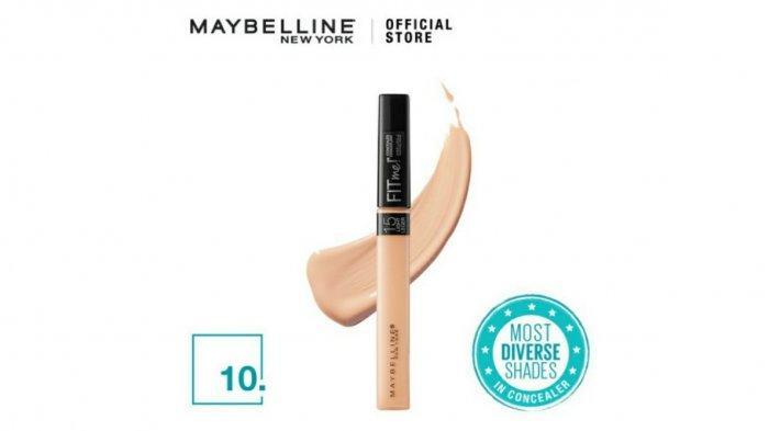 Ilustrasi. Berikut harga Maybelline Fit Me Concealer, simak promo Tokopedia 2021