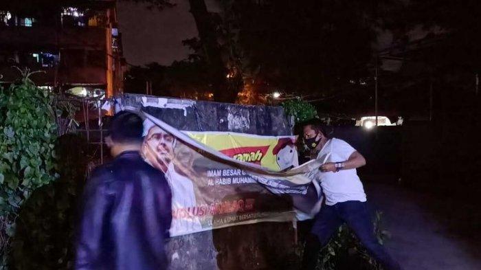 Copot Baliho Rizieq Shihab, Kapolrestabes Palembang Buka Suara