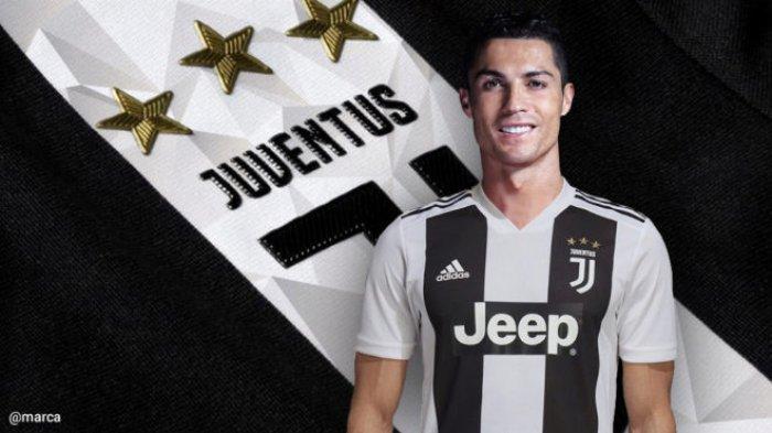 Belum Main, Jersey Ronaldo di Juventus Seharga Rp 1,7 Juta Laku Terjual per Menit