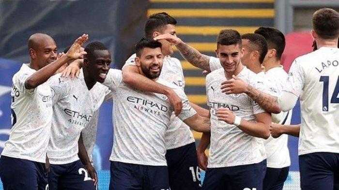 Atasi Crystal Palace, Man City Diambang Juara Liga Inggris