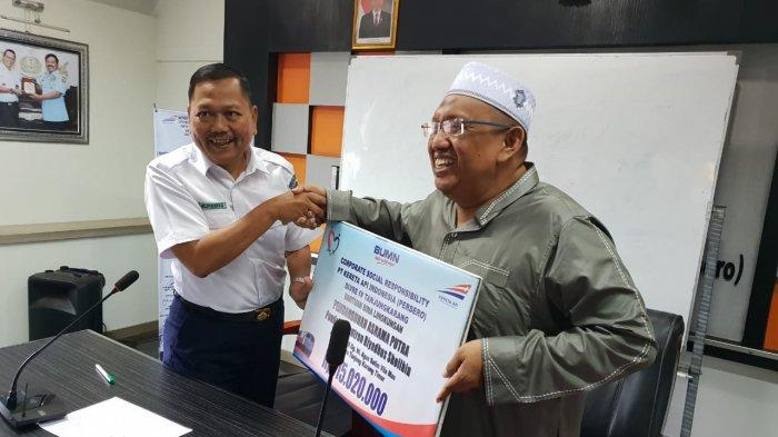 PT KAI Divre IV Tanjung Karang Salurkan Dana CSR untuk Sarana Ibadah