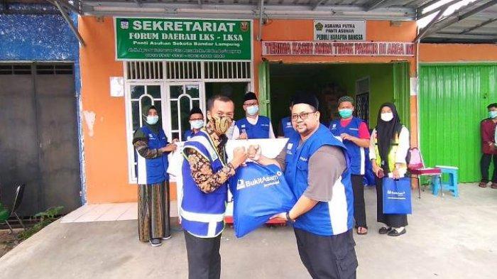 CSR PT Bukit Asam Tbk-Pelabuhan Tarahan Gelar Giat Peduli dan Berbagi di Bulan Ramadhan
