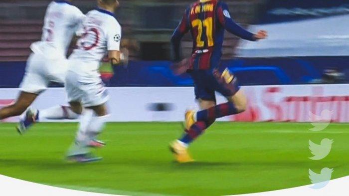 Striker PSG Neymar JR menghapus tweet setelah bereaksi terhadap penalti Barcelona vs PSG di babak 16 besar Liga Champions