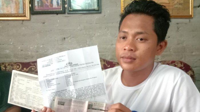 Tidur Seusai Sahur, Pedagang Nasi Bakar di Pringsewu Kehilangan Motor yang Baru Dibelinya