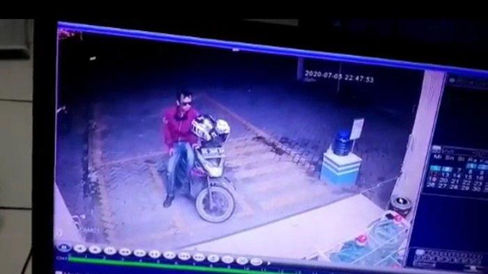 Pelaku Curanmor di Seputih Agung Lampung Tengah Ditangkap berkat Rekaman CCTV