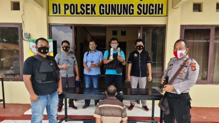 Cekik Wanita dengan Tangan Terborgol, Residivis Curanmor di Lampung Tengah Mengaku Panik