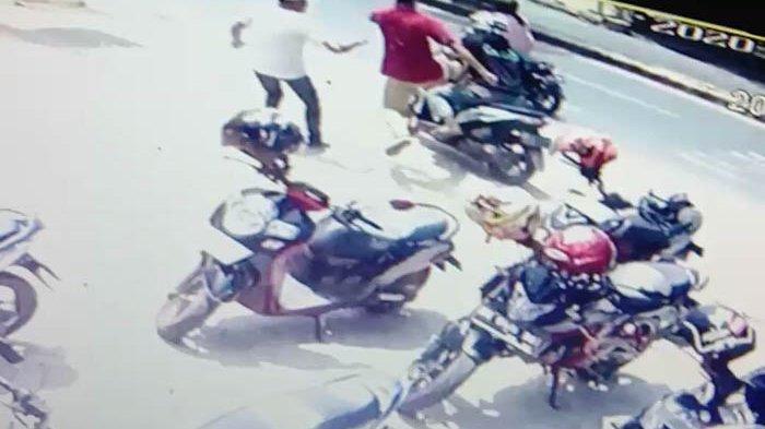 Detik-detik Pelaku Curanmor Dihadang Warga di Bandar Lampung hingga Berakhir Tragis