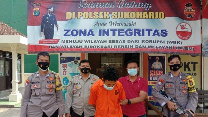Pelaku Curanmor di Pringsewu Lampung Diperiksa Intensif Polsek Sukoharjo