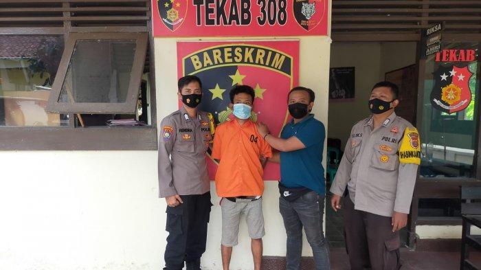 Ditangkap di Pringsewu, Pelaku Curanmor Ini Pernah Beraksi di Bandar Lampung