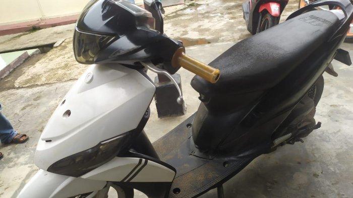 Motor Korban Dibawa Kabur, Motor Pelaku Diamankan Polsek Sukoharjo Lampung