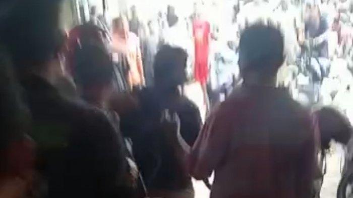 Viral Video Pelaku Curanmor Diamuk Massa di Way Halim Bandar Lampung